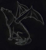 Крылатый Волк. Рис. Chiffa